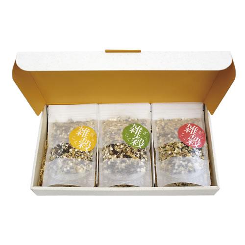 かわいいな米・雑穀のパッケージ
