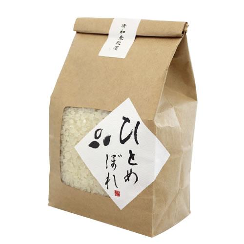 ナチュラルな米・雑穀のパッケージ