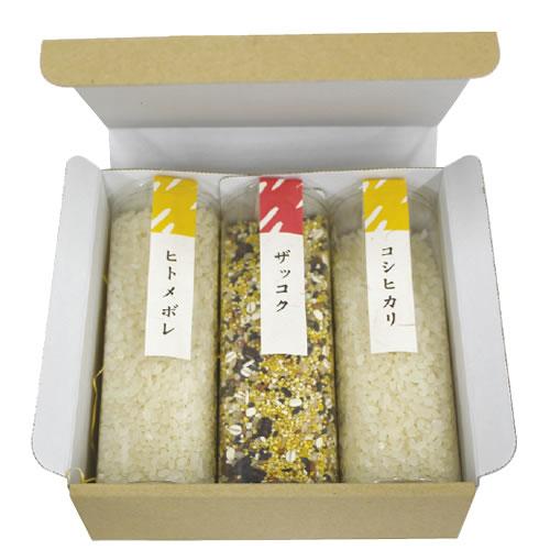 シンプルな米・雑穀のギフト